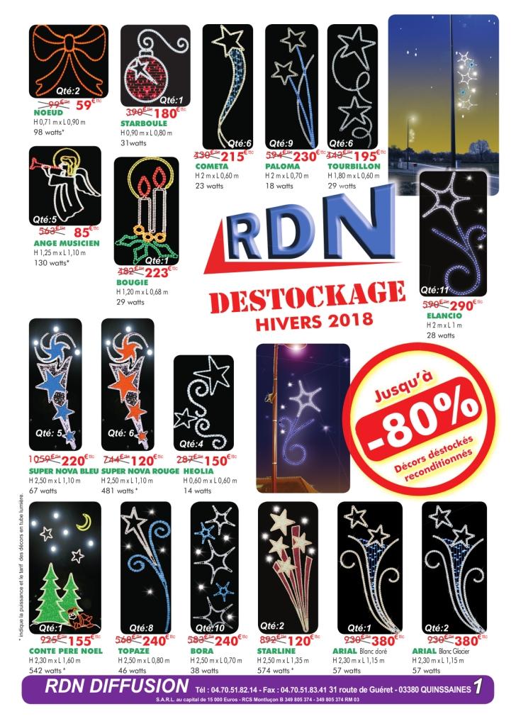 Catalogue Déstockage Hiver 2018